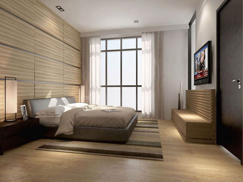 Residences interior design bedroom 2 office for Dmci 2 bedroom interior design