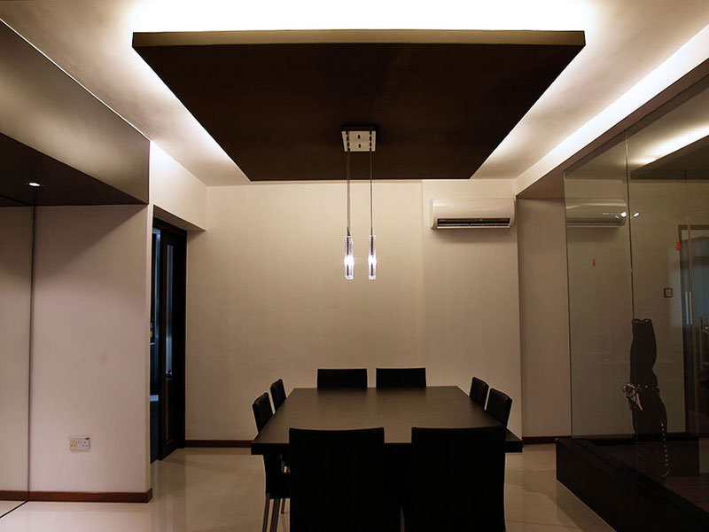 Residences interior design dining area 3 office for Dining area interior design