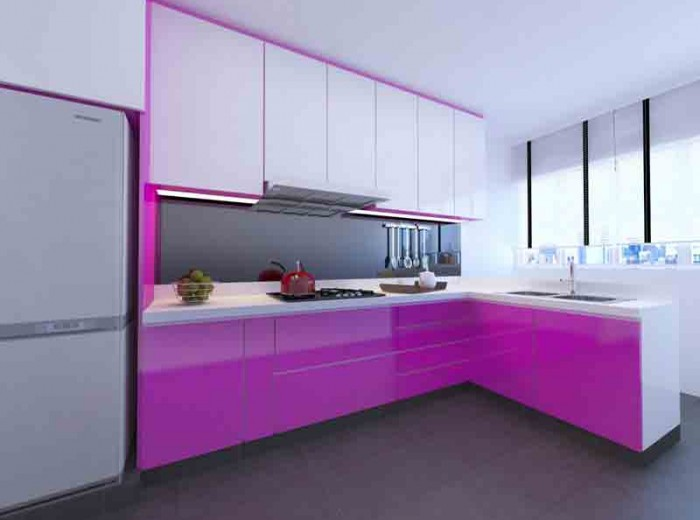 Residences (Interior Design) - Kitchen 1