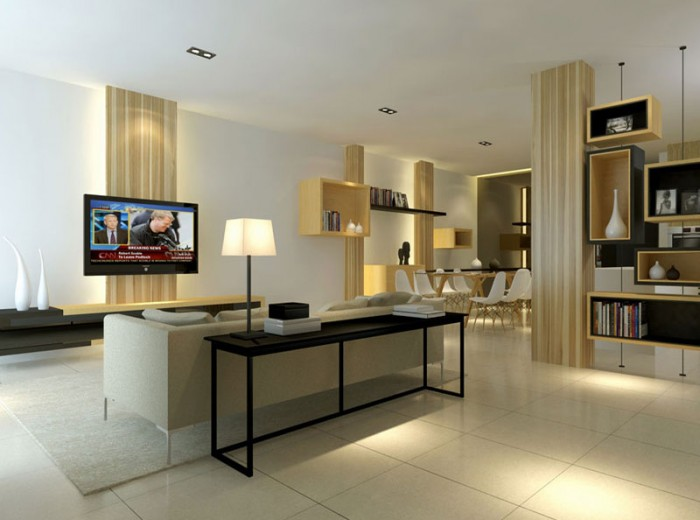 Residences (Interior Design) - LivingRoom 11