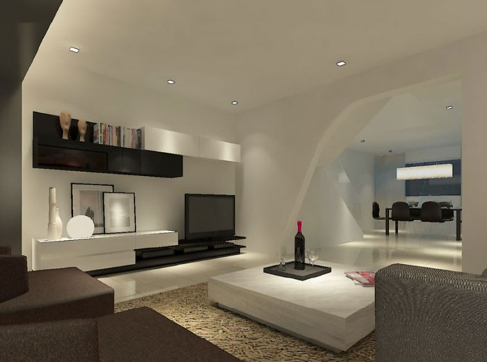 Residences (Interior Design) - LivingRoom 3