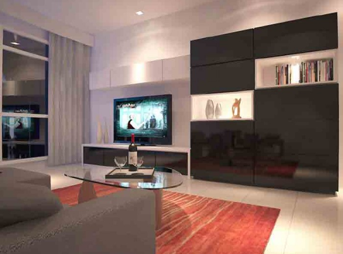 Residences (Interior Design) - LivingRoom 4