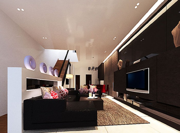 Residences (Interior Design) - LivingRoom 6