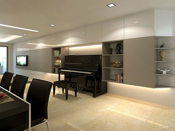 Residences (Interior Design) - LivingRoom 8
